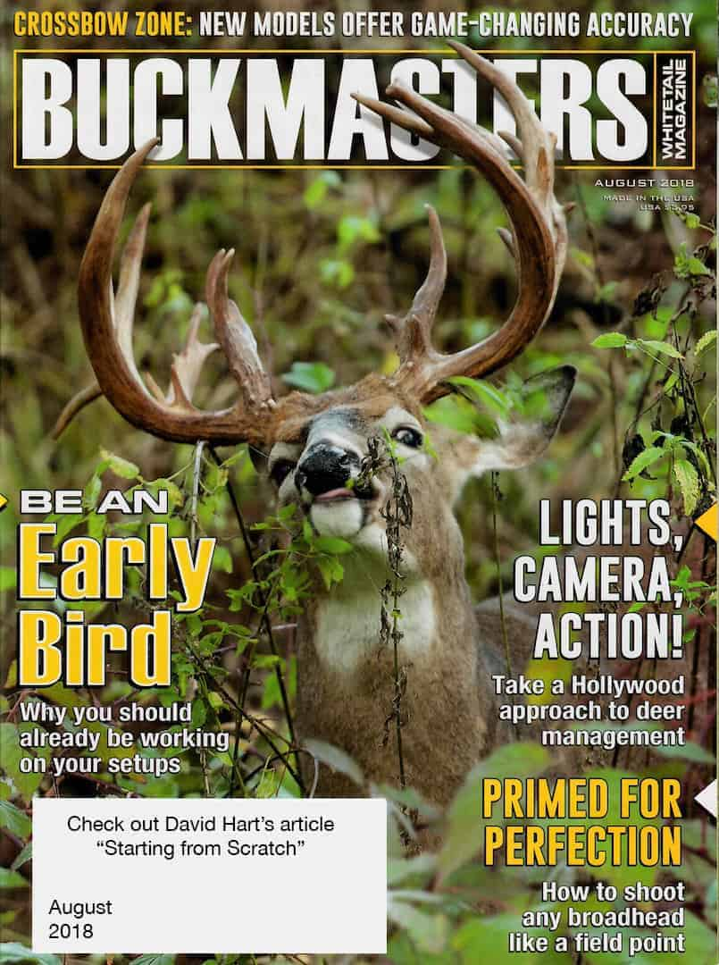 BuckMasters Aug 2018 Cover
